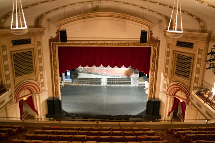 Inside imperial imperial theatre